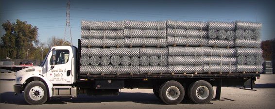 Chain Link Fence Delivery